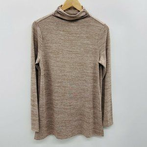 Lands End Small Cloudspun Funnel Neck Tunic 1109